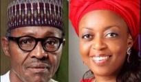 Muhammadu Buhari and Allison-Mmadueke