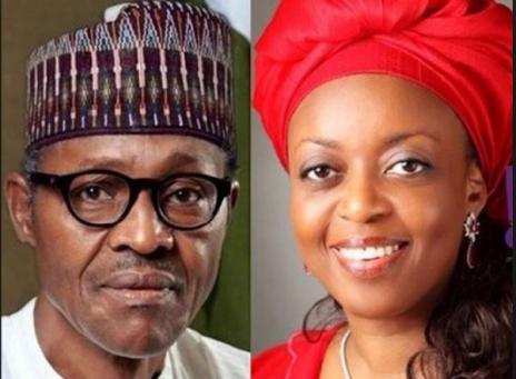 Muhammadu Buhari and Allison-Mmadueke