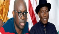 Goodluck Jonathan and Ayo Fayose