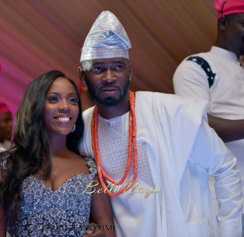 Tiwa Savage and husband TeeBBillz