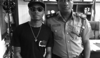 Wizkid and Lagos State Commissioner of Ppolice, Fatai Owoseni