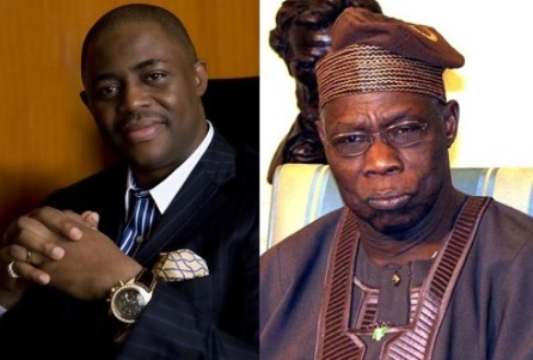 Fani-Kkayode and Olusegun Obasanjo