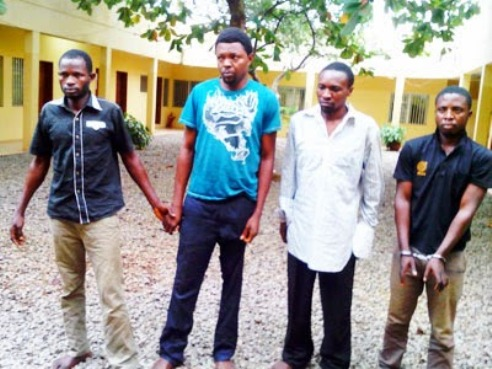 The driver and other suspects
