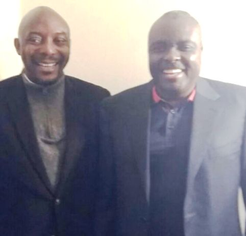 President of Urhobo Democratic Assembly, Olorogun Arthur Akpowowo with  Chief James Ibori in London
