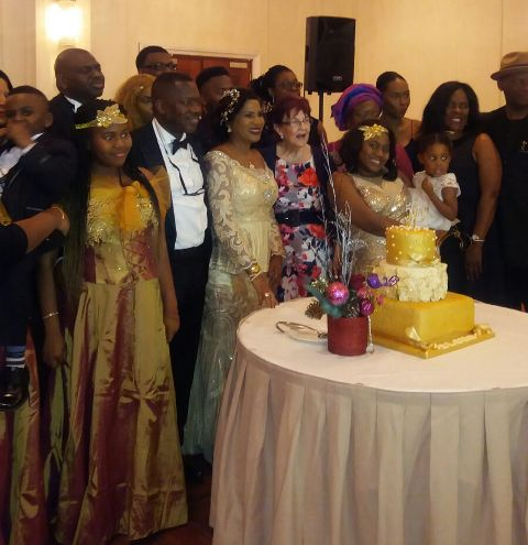 The Ogude's family