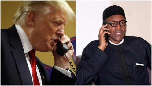 Trump-and-Buhari-on-PHone-600x338