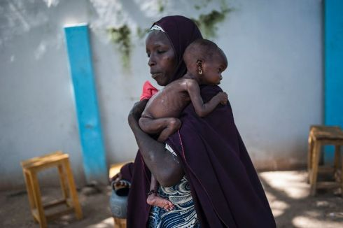 Boko Haram's insurgency has triggered a major food emergency in northeastern Nigeria (AFP Photo/STEFAN HEUNIS)