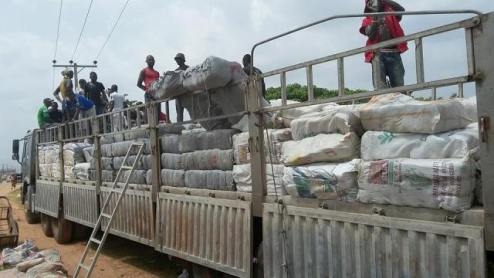 NDLEA Intercepts Dangote Truck Loaded With N183m Worth Of Cannabis