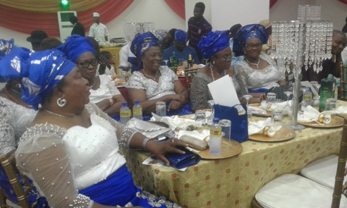 Wives of members of Urhobo Social Club Lagos