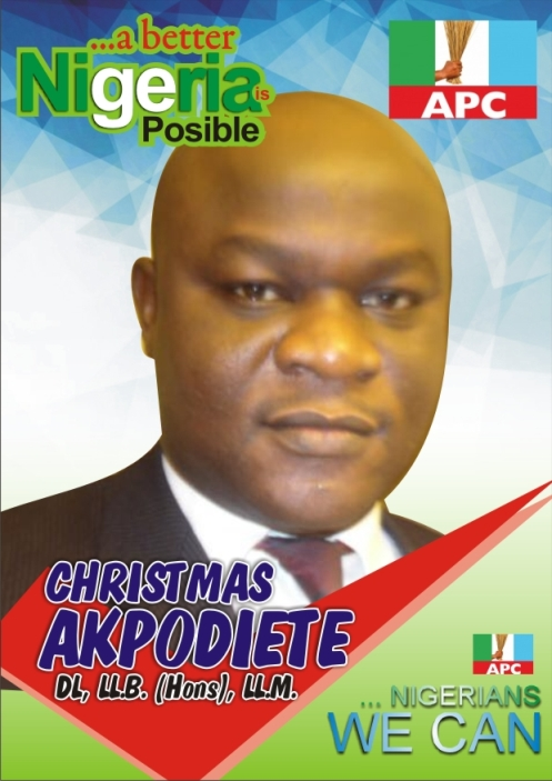 Christmas Akpodiete  Sets To Declare Intention For 2019 Election