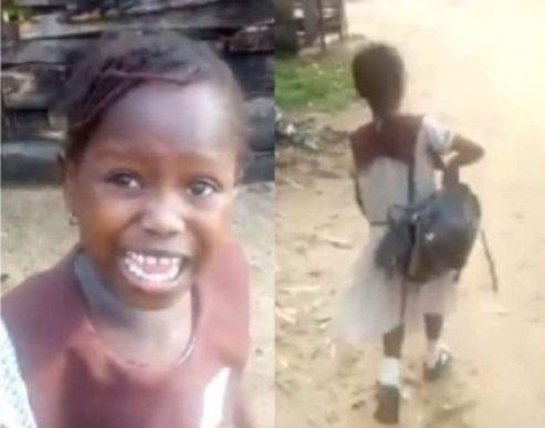 Delta Govt Suspends  Head Teacher  Of Little Success's School Over Viral Video