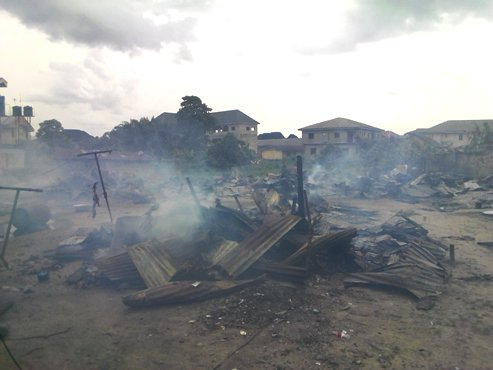Delta: Gas Cylinder Explosion Renders Over Twenty Families Homeless In Uvwie