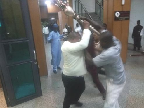 We Are Yet To Conclude Investigation Into Incident Of NASS Mace Snatchers-Police