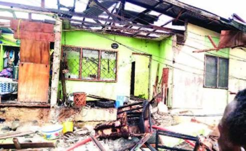 Cooking Gas Explosion Injures Couple, Destroy Million Naira Property In Warri