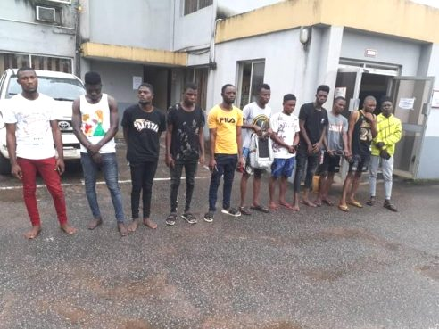 Delta: EFCC Releases Names  Of Eleven Yahoo Boys Arrested In Sapele
