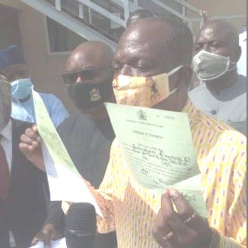 Bayelsa Dep Gov, Ewhrudjakpor Waives Immunity, Travels By Road To Presents Disputed NYSC Certificate To Tribunal