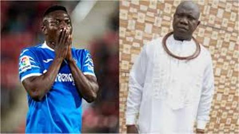 Super Eagles Star, Oghenekaro Etebo Loses  Father