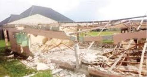 Collapsed School Building In Ijaw Community  Forces Delta Pupils To Stay At Home