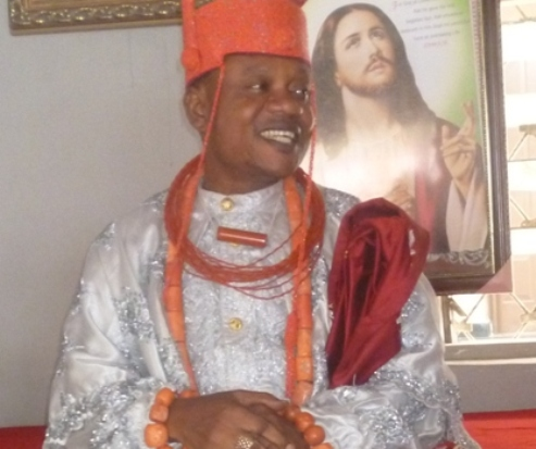 Ughelli Monarch, Oharisi III Appreciates God For Saving His Life, Launches Royal Church