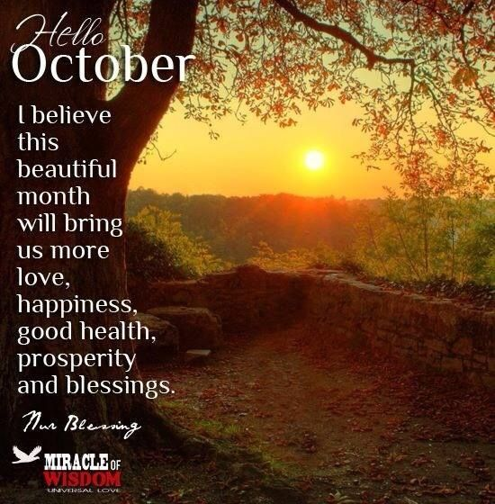 Snoopy Fall Wallpaper Hello October Images Quotes Sayings Pictures Clipart