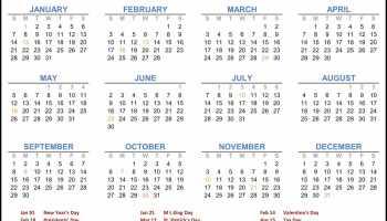 January 2019 Floral Calendar Desk Wallpaper Flower Images