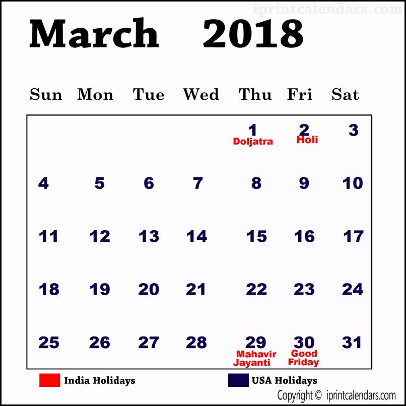 Holidays In March Tourismstyle Co