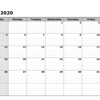 July 2020 Printable Calendar in PDF Word Excel With Holidays