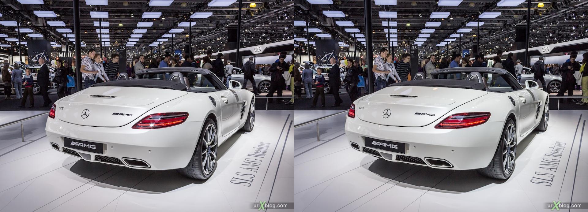 2012, Mercedes Benz AMG, Московский международный автомобильный салон, ММАС, Крокус Экспо, 3D, стереопара