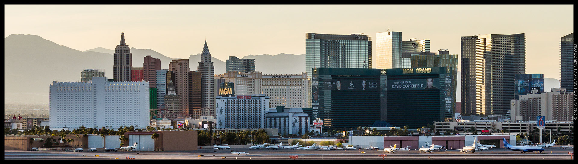New York, MGM, Aria, casino, 2014, LAS, Las Vegas McCarran International airport, strip, LV, Clark County, USA, Nevada, panorama, horizon, city