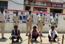 Photo of चोरी के प्रकरण मे फरार चल रहे इनामी आरोपी धराये।