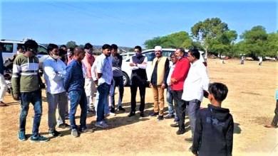 Photo of बांदरी नगर में क्रिकेट टूर्नामेंट की तैयारी को देखने पहुंचे मंत्री प्रतिनिधि लखन सिंह