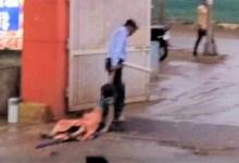 Photo of MP:अस्पताल में इलाज़ कराने आई महिला को 300 मी.तक घसीट कर बाहर निकाला।