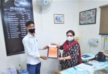 Photo of अन्तराष्ट्रीय मातृभाषा दिवस पर जामिया हिन्दी विभाग के छात्र को किया गया सम्मानित