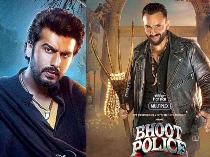 """HINDI MOVIE 'भूत पुलिस' में """"विभूति"""" बने सैफ का लुक हुआ रिलीज़"""