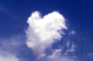 Nube de corazon