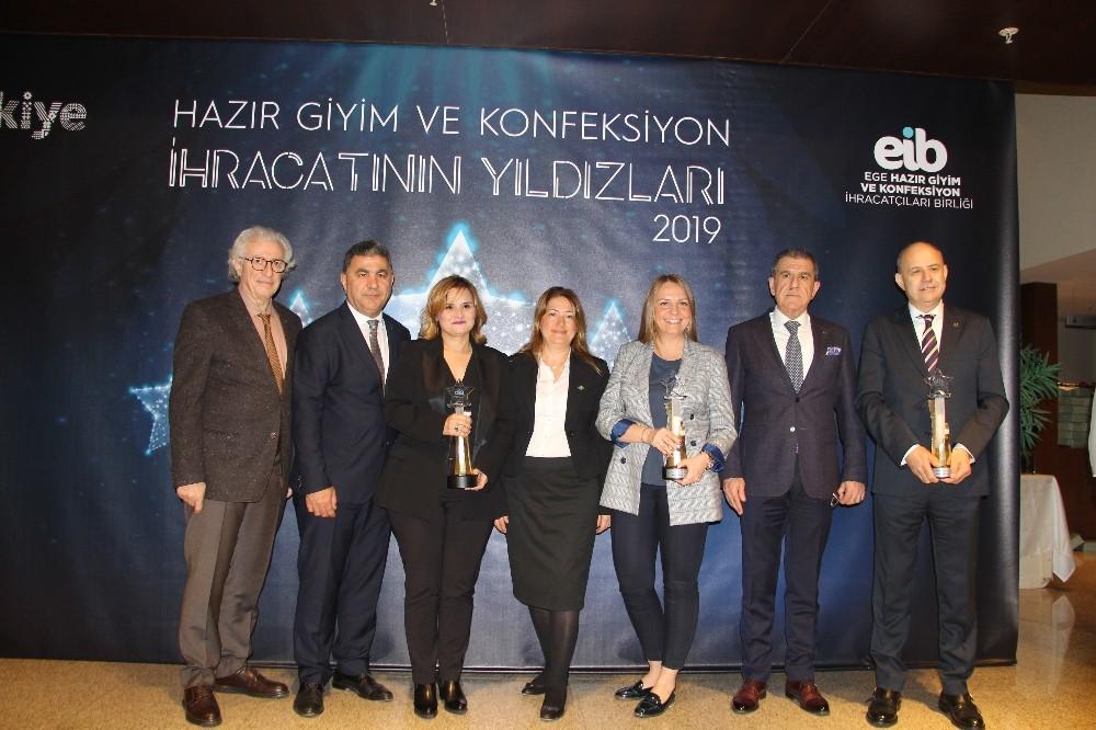 Ege Hazır Giyim Ve Konfeksiyon İhracatçıları Ödüllerine Kavuştu