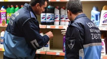 İzmirde Zabıtadan Korona Virüsü Fırsatçılarına Denetim