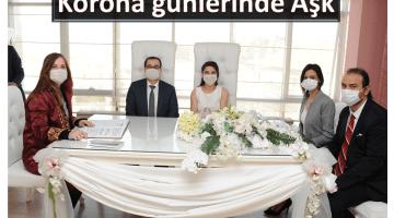 Korona Günlerinde Aşk: Canlı Yayında Nikah Kıydılar