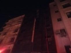 İzmirde Korku Dolu Anlar: 5 Katlı Otelde Yangın Çıktı