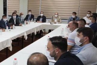 Ak Parti İzmirin İlçe Başkanları Toplantısı Aliağada Yapıldı
