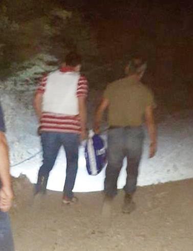 Uyuşturucu Taciri Ağaç Kovuğunda Yakalandı