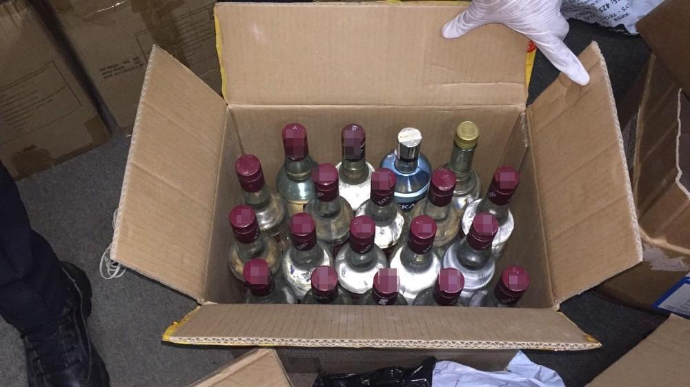 Hırsızların Girdiği Depo Sahte İçki İmalathanesi Çıkmıştı: 6 Ton Sahte İçki Ele Geçirildi