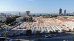 İzmirde Konteyner Kentte Çalışmalar Hızla Sürüyor