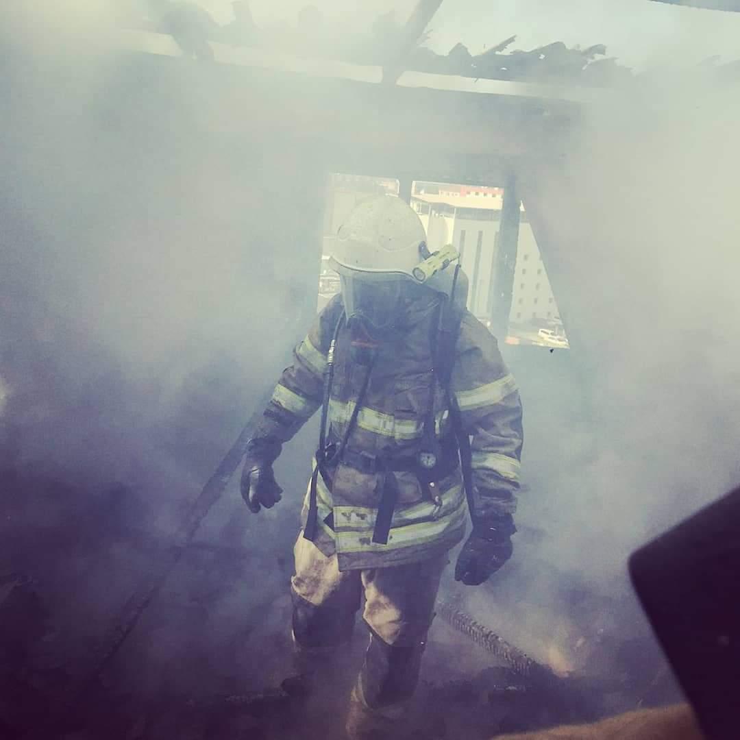 İzmir'de Çıkan Yangın Paniğe Neden Oldu.