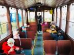 Nostaljik Tramvay Çiğdem Yeni Yıl İçin Süslendi