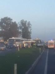 İşçi Servis Otobüsü İle Yolcu Minibüsü Çarpıştı: 4 Yaralı
