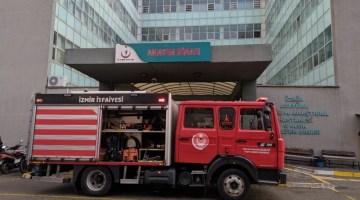 İzmir'de Hastanede Yangın Paniği: Psikiyatri Hastası Yatağını Yaktı