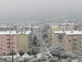 İzmirde Kar Sevinci