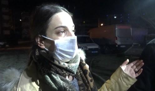 İzmirde Bir Apartmanda Korkutan Yangın