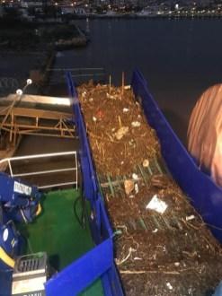 İzmirde Selden Sonra Körfezden 25 Ton Çöp Toplandı